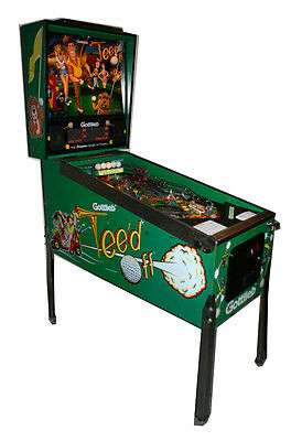"1993 Gottlieb "" Tee'd Off "" pinball machine -Great condition"