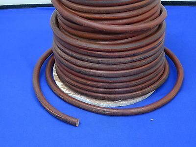 """Sewing Machine Motor Belt Round, Real Leather  5/16"""", 72"""" Long Will Fit Singer +"""