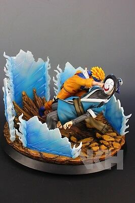 New Naruto GK Resin VKH Statue original Naruto vs Haku Limited Re-lunch LED