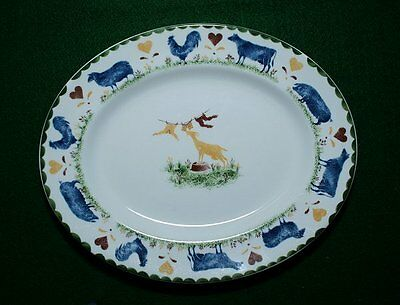 Wood & Sons JACKS FARM Oval Plate