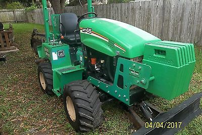 2013 Ditch Witch RT 45 4x4 Ride On Trencher SideShift 745 Hr Clean, Nice  TEXAS