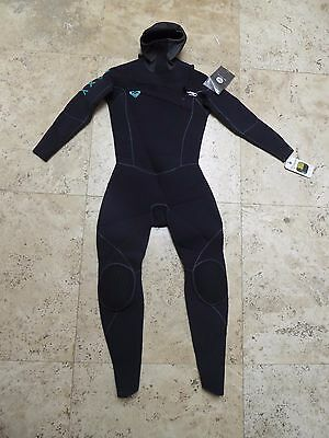 Brand new Roxy Cypher 5/4/3mm Hooded Chest Zip Women's Wetsuit Size 10 Surf NWT