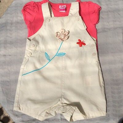 DPaM French Romper Suit with bodysuits and top 12 months