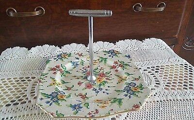 Royal Winton Queen Anne Chintz Cake Plate