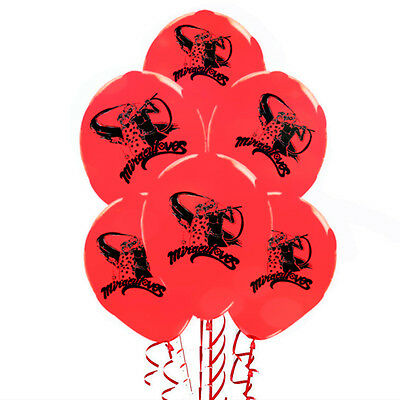 Miraculous Ladybug Latex party Balloons Birthday Decorations.