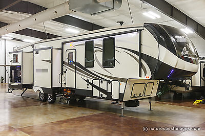 New 2017 381RBOK Four 4 Season 5th Fifth Wheel Bunkhouse with Outdoor Kitchen