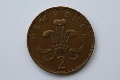 New Pence - 2p coin - 1979