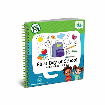 LeapFrog LeapStart Preschool Activity Book: First Day of School and Critical