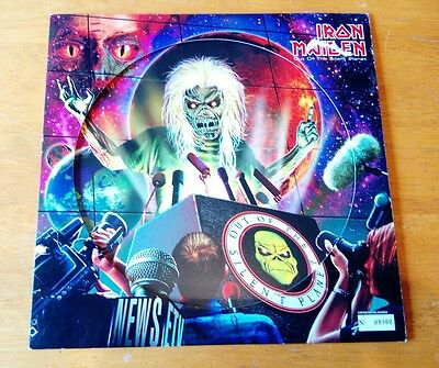 """Iron Maiden Out Of The Silent Planet Uk Numbered Picture Disc 12"""" With Insert"""