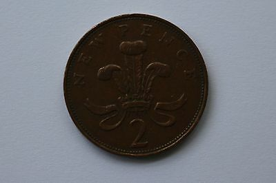 New Pence - 2p coin - Circulated - 1971