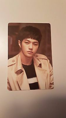 INFINITE L MYUNGSOO SEASON'S GREETINGS Calendar [OFFCIAL] PHOTOCARD Photo Card