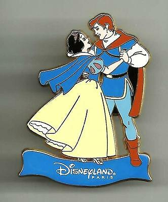 Dlrp Disneyland Paris Le Snow White And Prince Charming Dancing Disney Pin