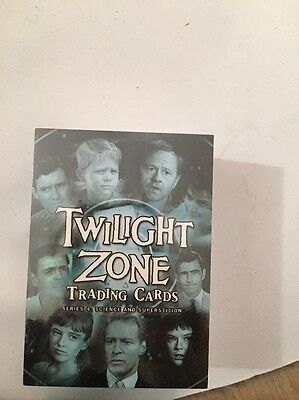 Twilight Zone Trading Cards Series 4: Science And Superstition New Sealed