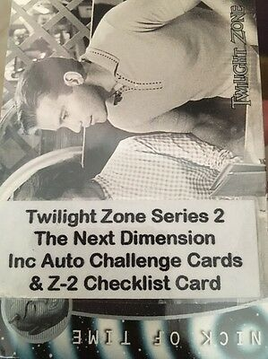 Twilight Zone Trading Cards Series 2: The Next Dimension New Sealed