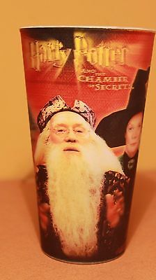 Harry Potter Chamber of Secrets Holographic  Tumbler Cup Coca Cola 2002