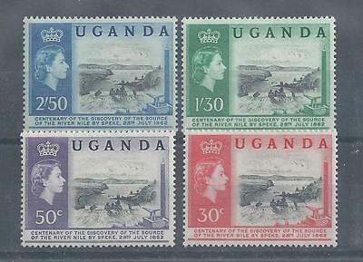 Uganda - 1962 - Discovery Centenary of the Source of the Nile - Un-mounted mint