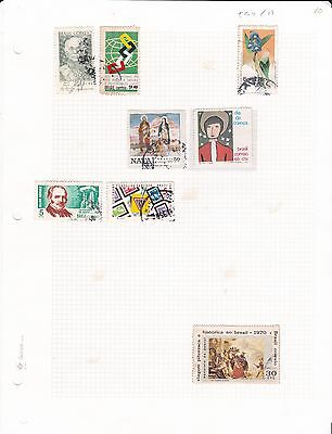 Brazil small lot of stamps ( 594 )