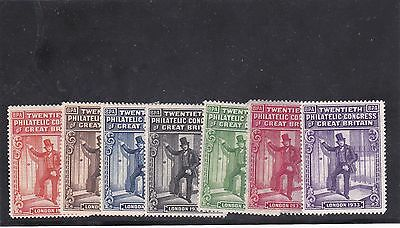 Great Britain Cinderella Philatelic exibition 1933 ( lot 169 )