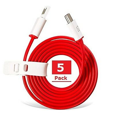 OnePlus Type-C Cable 100cm (Pack of 5) (Faster Delivery in 5 to 10 Days)