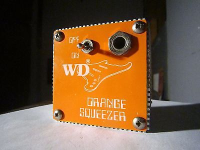 WD Orange Squeezer Compressor Sustain Limiter Guitar Effect Pedal Dan Armstrong