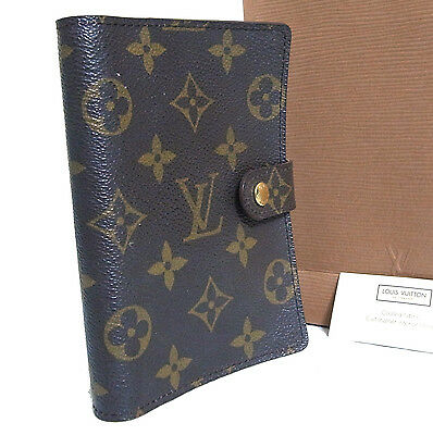Auth Used Louis Vuitton Monogram Agenda PM Cover Day Planner R20005 CA0958 Spain