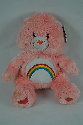 "Cheer Bear Care Bears Comfy Special Edition Pink 8"" Plush Stuffed Animal"