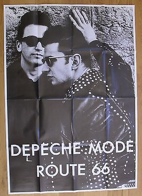"DEPECHE MODE route 66 vintage  poster huge 54""x37"" inch"