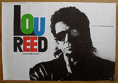 LOU REED vintage poster  dime store mystery