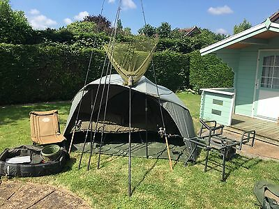 full carp set up used