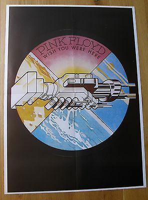 PINK FLOYD   wish you were here vintage poster