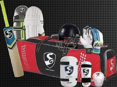 SG Economy English Willow Complete Cricket Kit - Right Hand