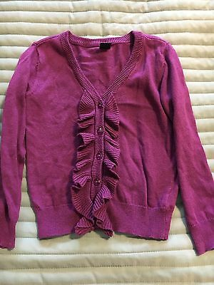 Baby Gap Girls Ruffle Cardigan Size 3 Years