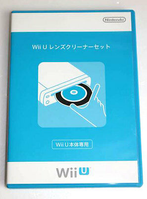 NINTENDO Official Wii U Lens Cleaner Set Cleaning Kit from JAPAN Free Shipping
