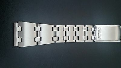 Seiko 19Mm Stainless Steel Gents Strap For Various Seiko Sports Watches