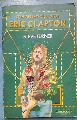 Conversations with Eric Clapton (Steve Turner - 1976) rare excellent paperback