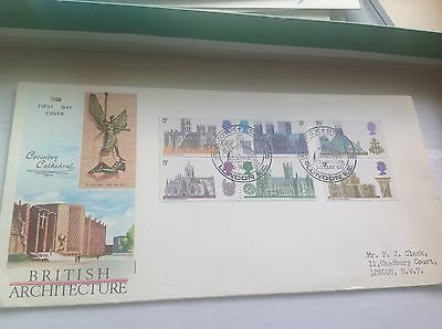 1969 Catherals SPECIAL  philatex postmark First Day Cover was £30