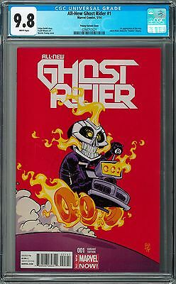 CGC 9.8 - All-New Ghost Rider #1 [May 2014] Young Variant 1st Robbie Reyes NM/MT