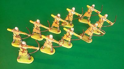 ELASTOLIN 40mm - Viking Archers Firing (M8642) x 10 - Excellent