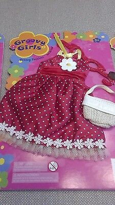 Manhattan Toys Groovy Girls Fashions Red She Said