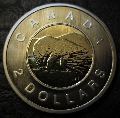 2005 Canada $2 Toonie Specimen - Uncirculated from set