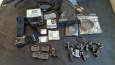 GoPro HD HERO 2 Outdoors Edition Kit & Accessory Bundle NEW - Never Used