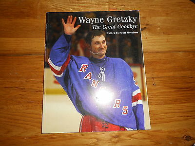 Wayne Gretzky: The Great Goodbye 1999 Softcover Book