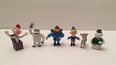 RUDOLPH THE RED NOSED REINDEER ISLAND OF MISFIT TOYS FIGURES 6 Total
