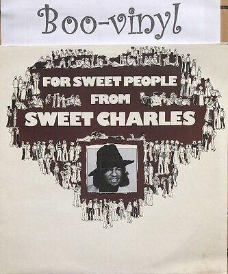 Sweet Charles For Sweet People Urban Records Ex+ Con Rare