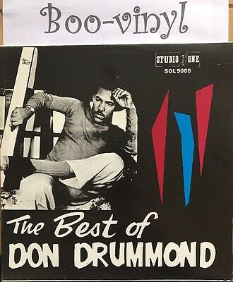 Don Drummond - The Best Of Don Drummond JA Studio 1 LP Rare Ex+ Con