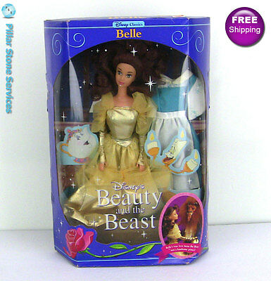 Disney Classics Beauty and the Beast: BELLE Mattel Doll Vintage 1991 Item #2433