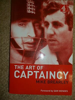 Mike Brearley The Art of Captaincy Signed Cricket Book
