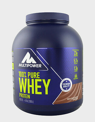 100% Pure Whey Protein MULTIPOWER 2KG FRAGOLA+BCAA 110CP OMAGGIO