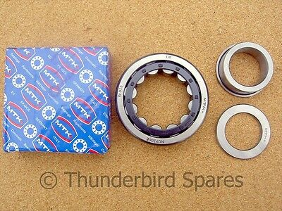 Main Bearing, T/S, Triumph T140/TR7, 1981-1987, Roller, 60-7362, Upgrade 1971 on