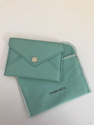 AUTHENTIC Tiffany & Co Leather Envelope For Business Cards